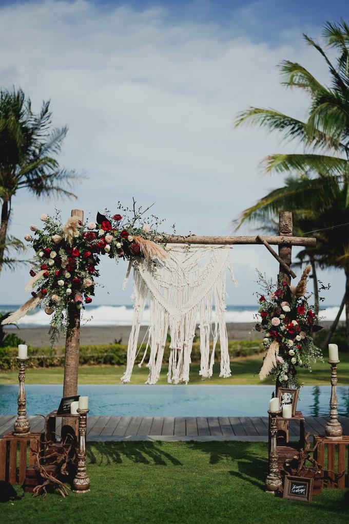 Simple - boho - rustic by Bali Wedding Paradise - 010