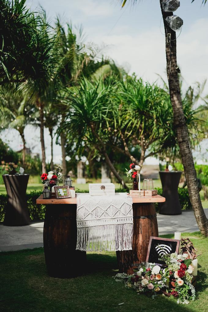 Simple - boho - rustic by Bali Wedding Paradise - 020