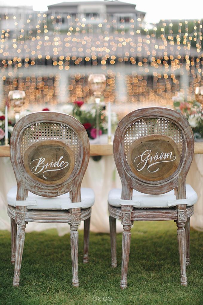 Bold burgundy by AiLuoSi Wedding & Event Design Studio - 002