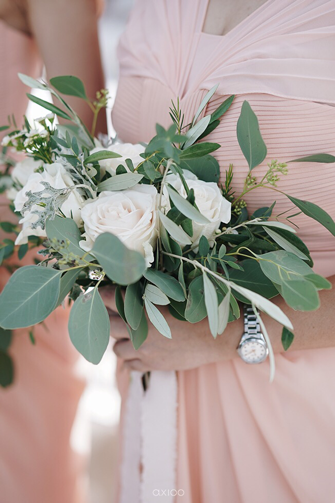 Bold burgundy by AiLuoSi Wedding & Event Design Studio - 026