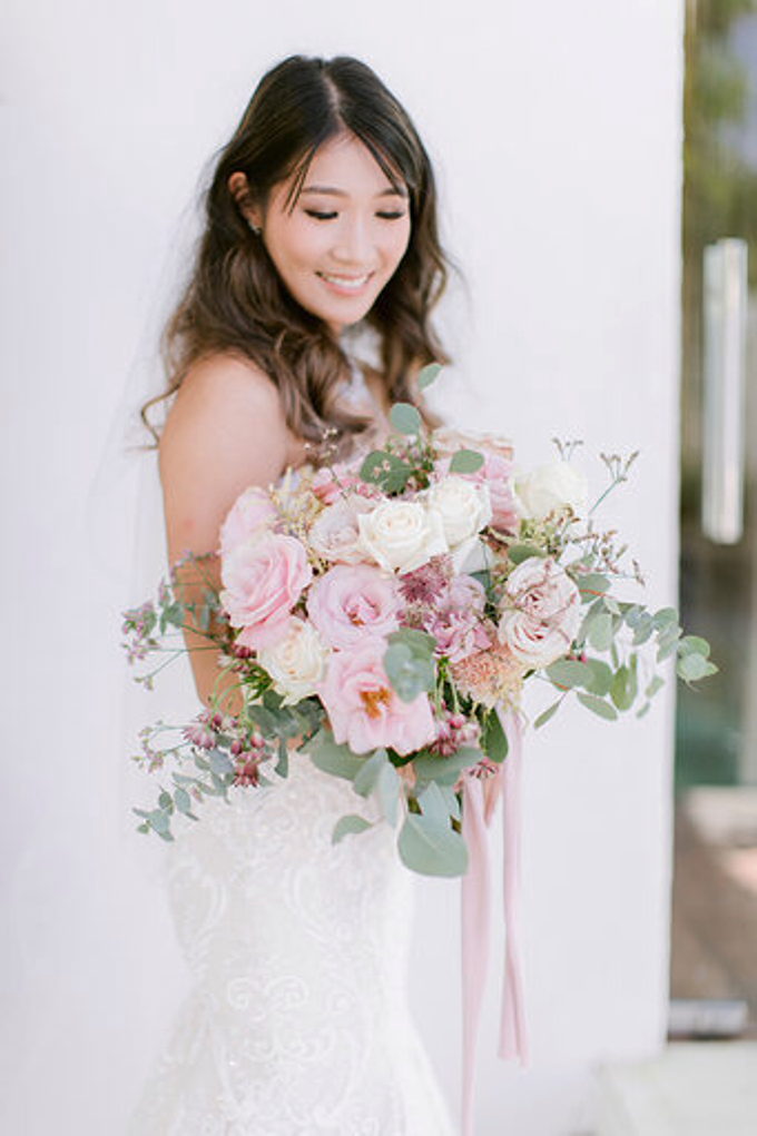 Simplicity of blush  by AiLuoSi Wedding & Event Design Studio - 002