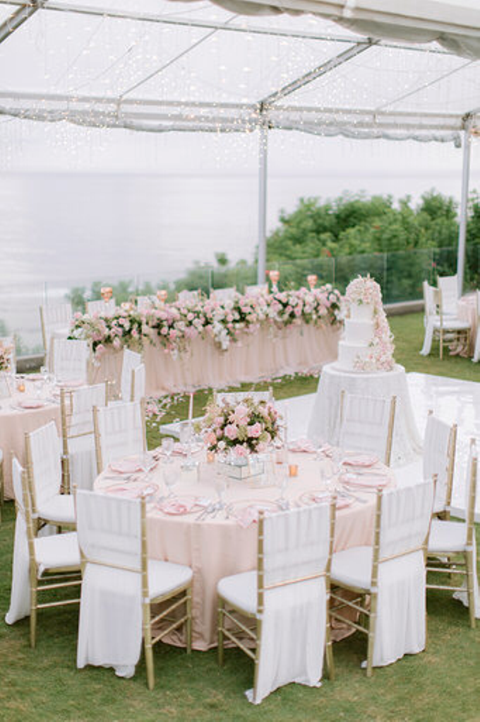 Simplicity of blush  by AiLuoSi Wedding & Event Design Studio - 005