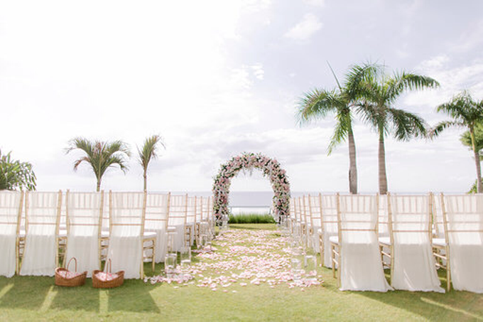 Simplicity of blush  by AiLuoSi Wedding & Event Design Studio - 004