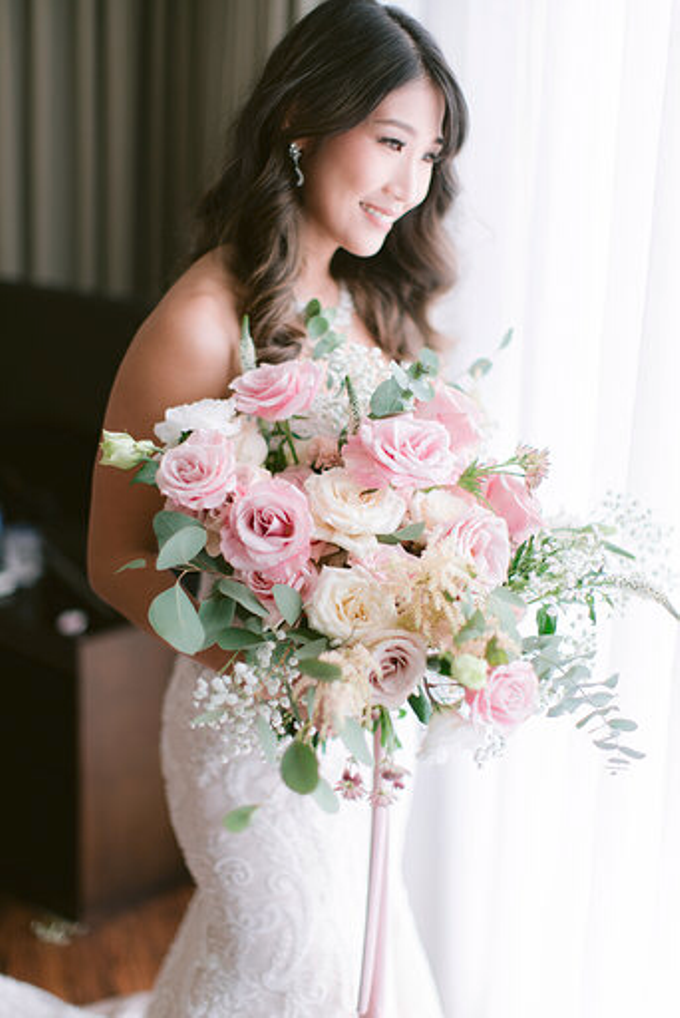 Simplicity of blush  by AiLuoSi Wedding & Event Design Studio - 007