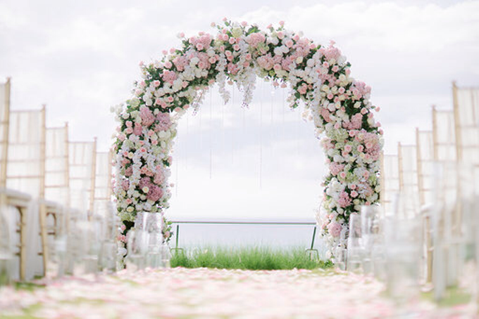 Simplicity of blush  by AiLuoSi Wedding & Event Design Studio - 008