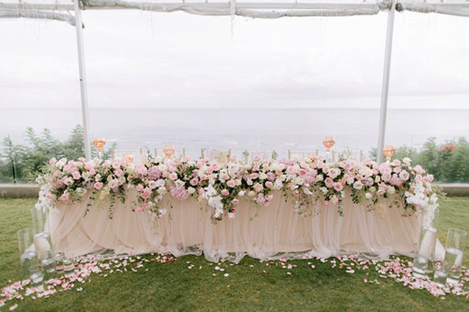 Simplicity of blush  by AiLuoSi Wedding & Event Design Studio - 006
