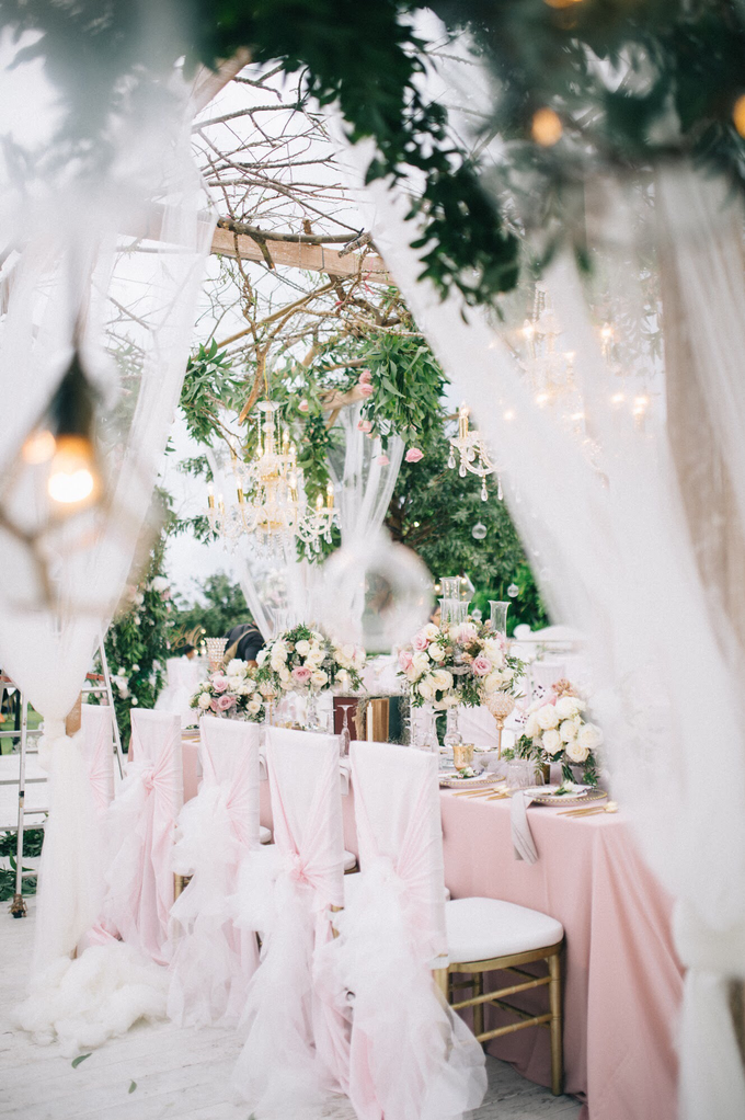 Enchanted garden  by AiLuoSi Wedding & Event Design Studio - 003
