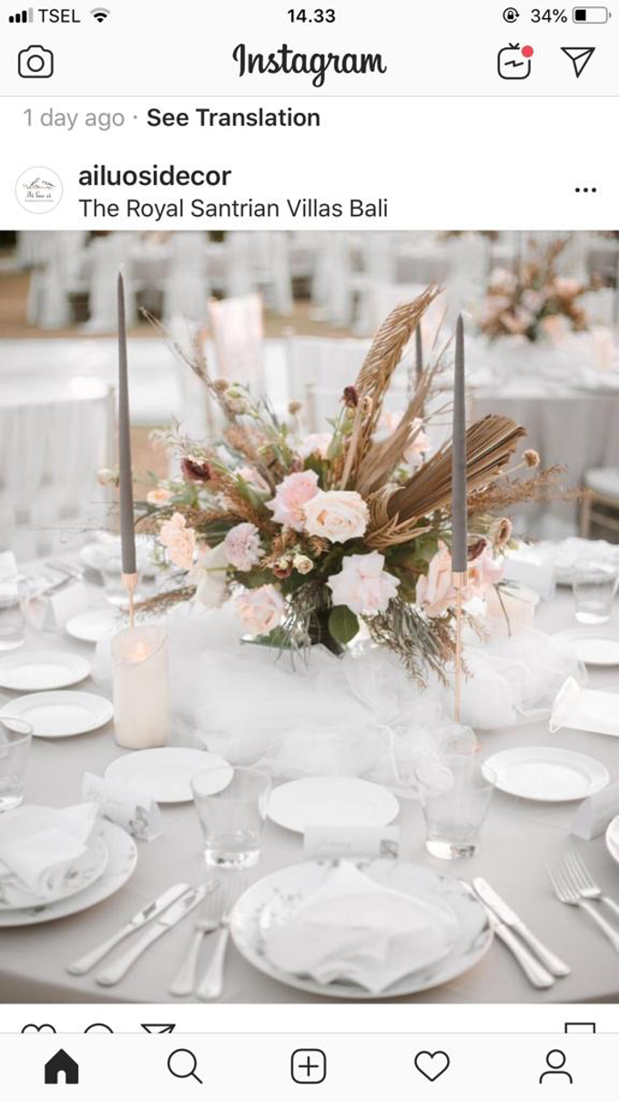 Simplicity of Dusty nude  by AiLuoSi Wedding & Event Design Studio - 005