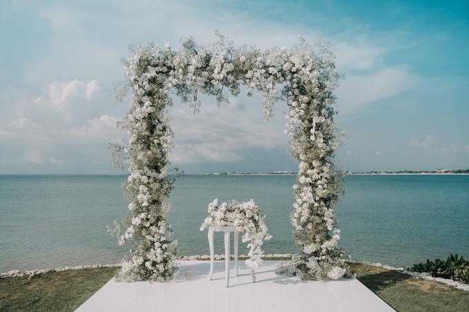 White wedding  by AiLuoSi Wedding & Event Design Studio - 001