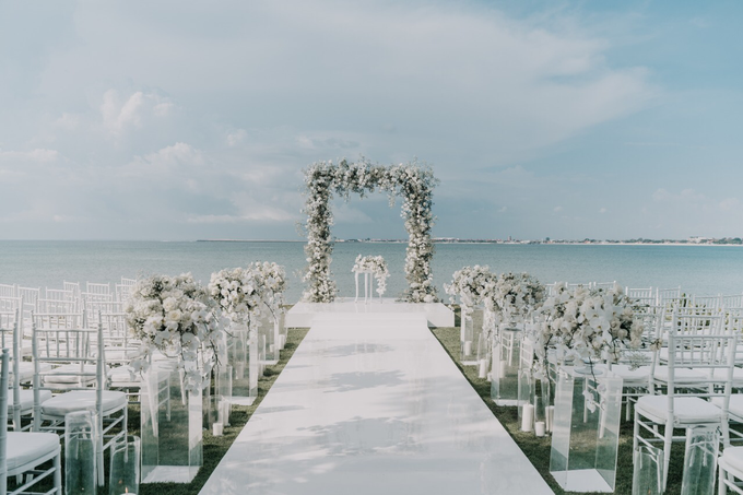White wedding  by AiLuoSi Wedding & Event Design Studio - 002