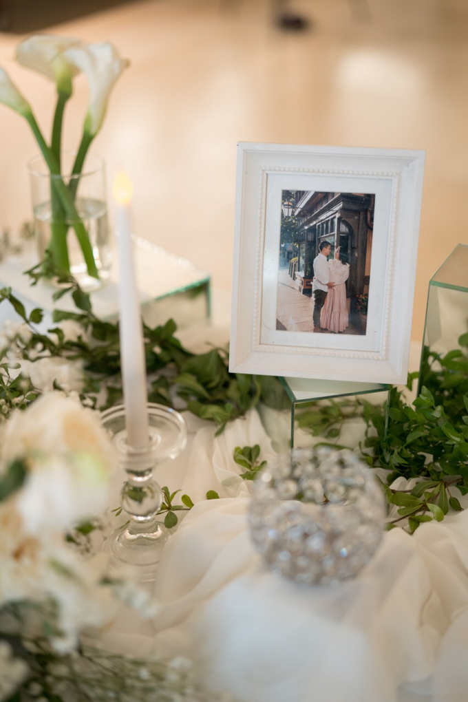 Simplicity of white and green  by AiLuoSi Wedding & Event Design Studio - 004