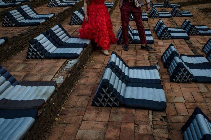 Luxury wedding at the Dhara Dhevi, Chiang Mai by Wainwright Weddings - 031