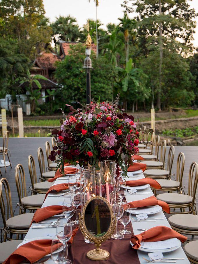 Luxury wedding at the Dhara Dhevi, Chiang Mai by Wainwright Weddings - 036