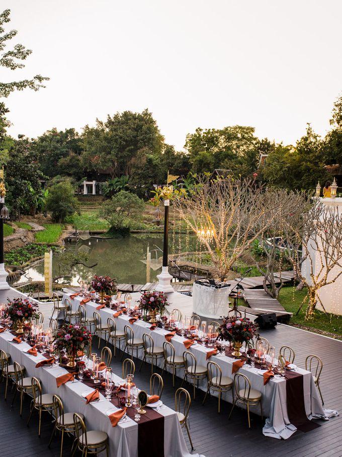 Luxury wedding at the Dhara Dhevi, Chiang Mai by Wainwright Weddings - 040