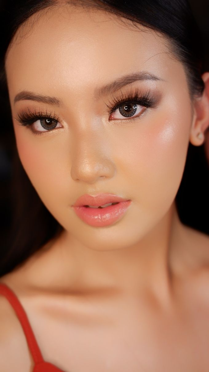 Soft Bride Makeup by lely murwiki - 001