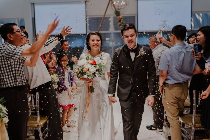 Tian Cheng & Sihui - Marble Metallic Wedding by Bloc Memoire Photography - 001