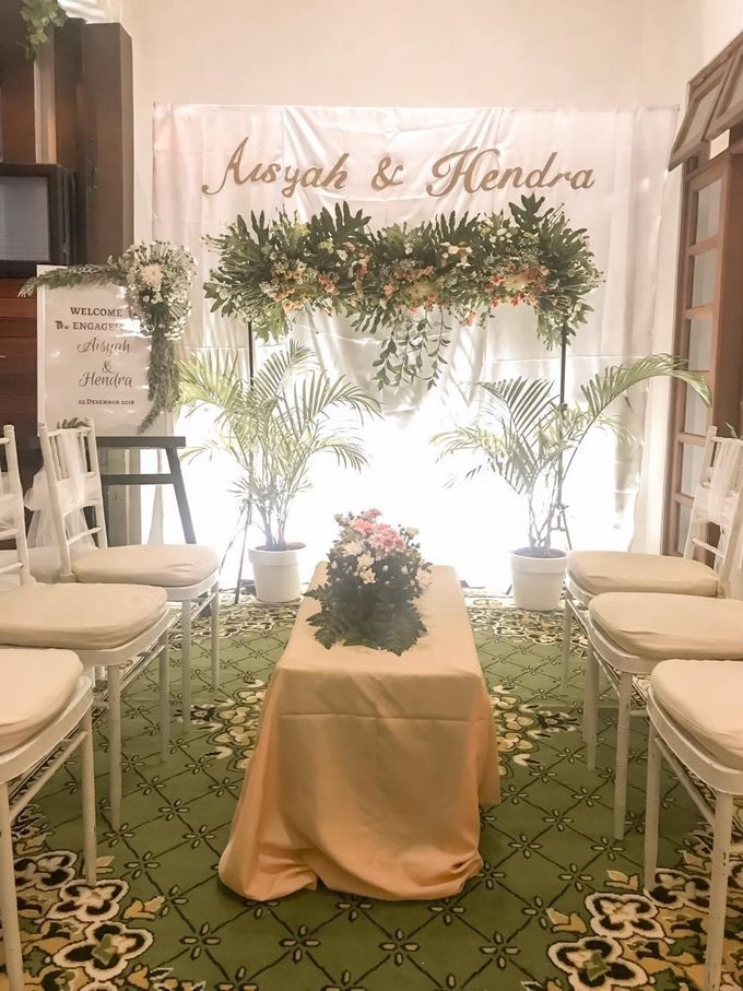 aisyah & hendra engagement day by Tanflorenza Florist & Decoration - 004