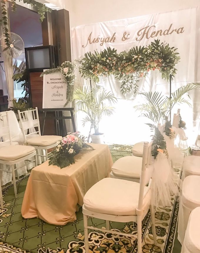 aisyah & hendra engagement day by Tanflorenza Florist & Decoration - 006