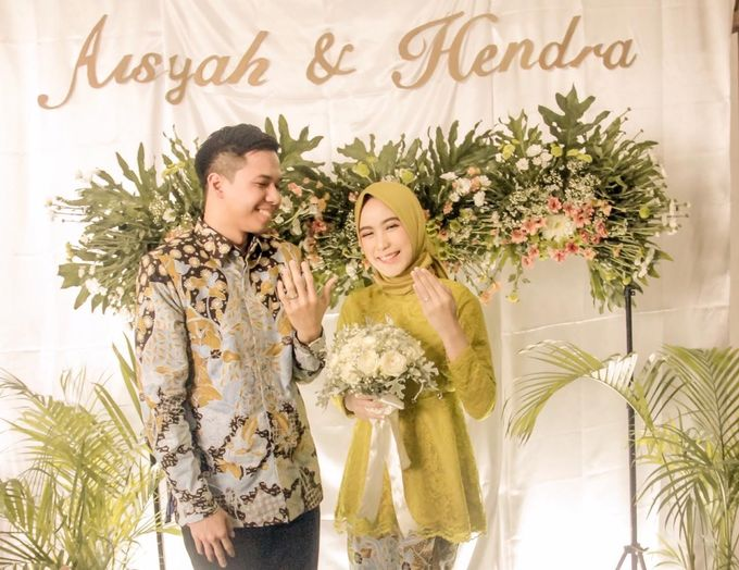 aisyah & hendra engagement day by Tanflorenza Florist & Decoration - 001