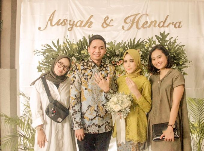 aisyah & hendra engagement day by Tanflorenza Florist & Decoration - 002