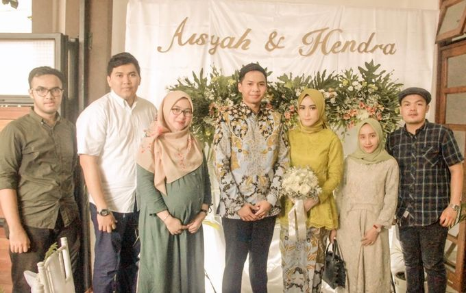 aisyah & hendra engagement day by Tanflorenza Florist & Decoration - 007