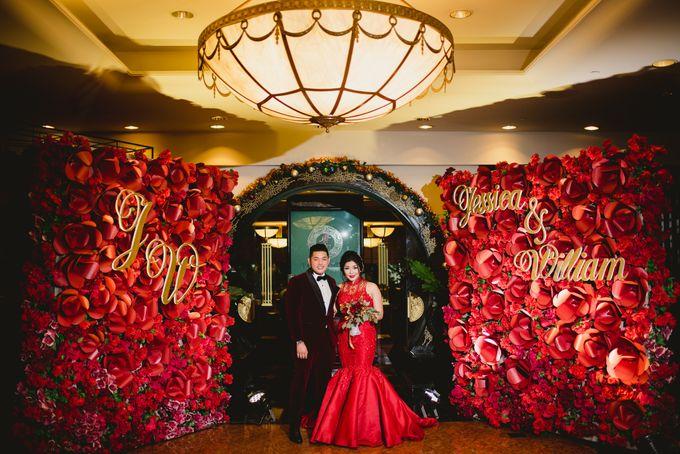 William And Jesica Engagement by Roseveelt Florist - 003