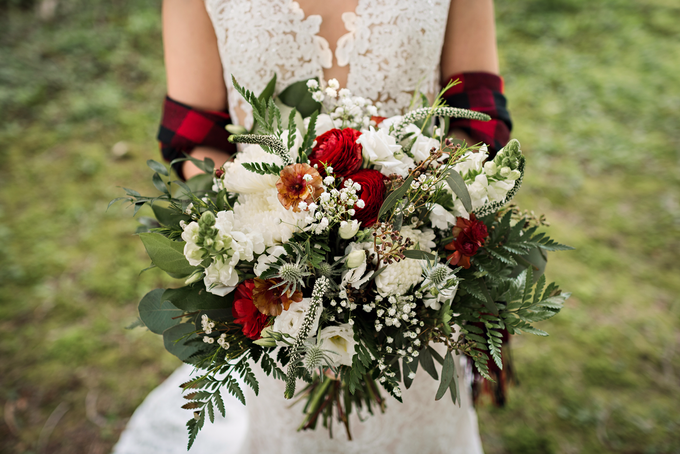 Buffalo Plaid Styled Shoot  by AJR Designs - 001