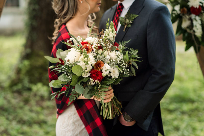 Buffalo Plaid Styled Shoot  by AJR Designs - 004