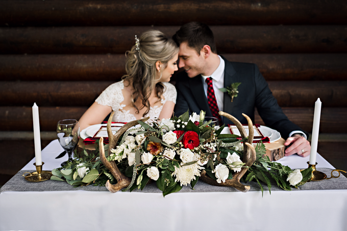 Buffalo Plaid Styled Shoot  by AJR Designs - 005
