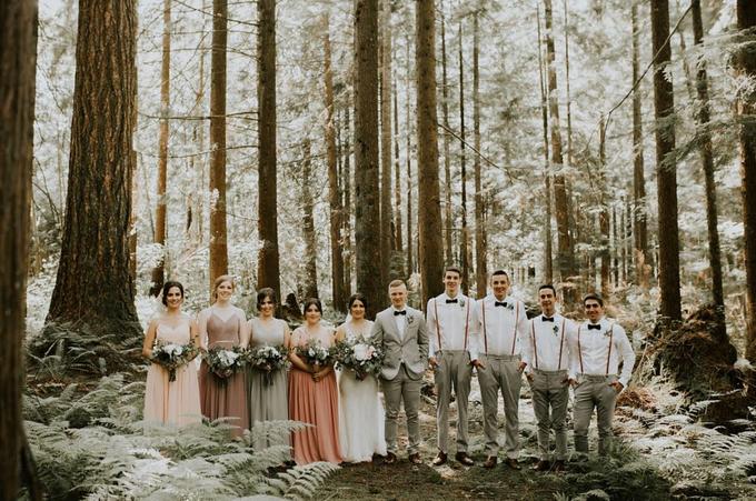 Blush Romantic Wedding by AJR Designs - 003