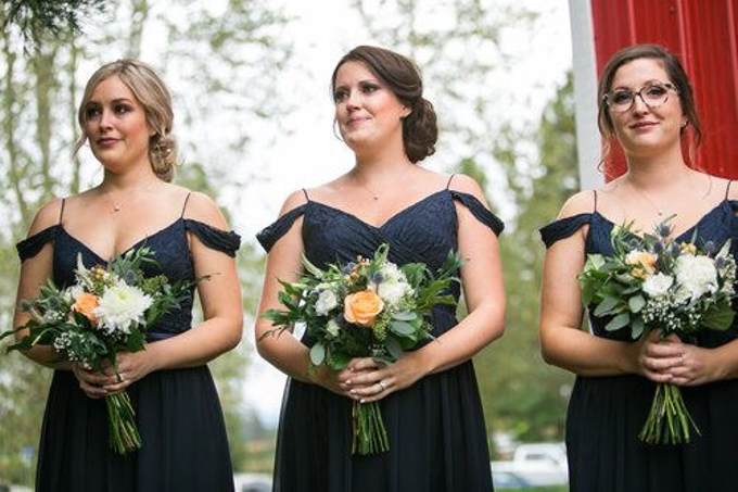 Country Fall Wedding  by AJR Designs - 004