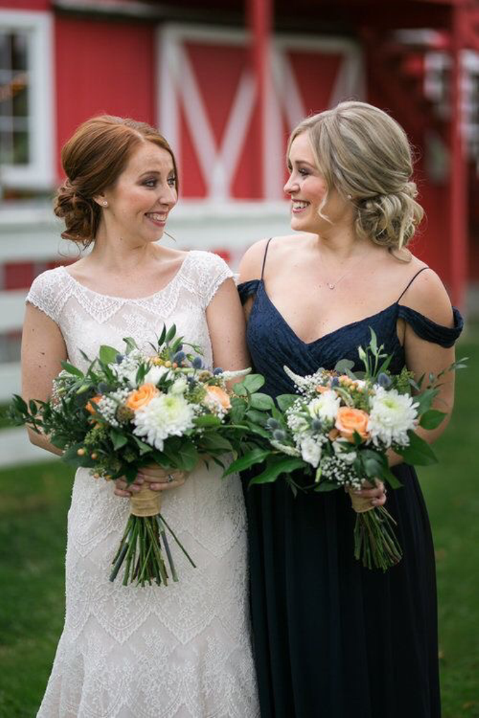 Country Fall Wedding  by AJR Designs - 003