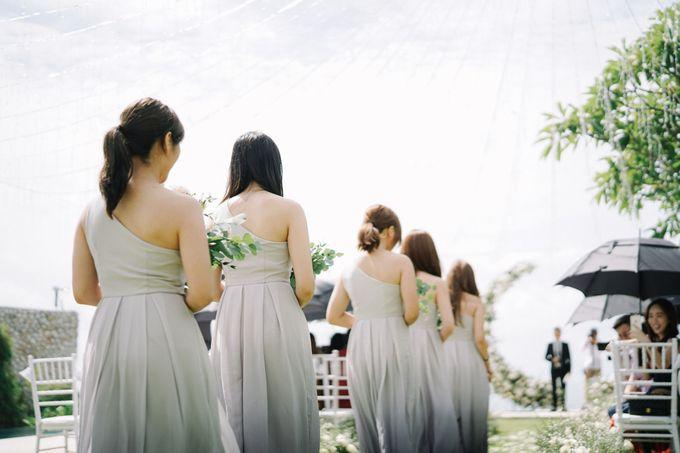 Intimate Natural Greenery Wedding at Alila Uluwatu Villa by Silverdust Decoration - 044
