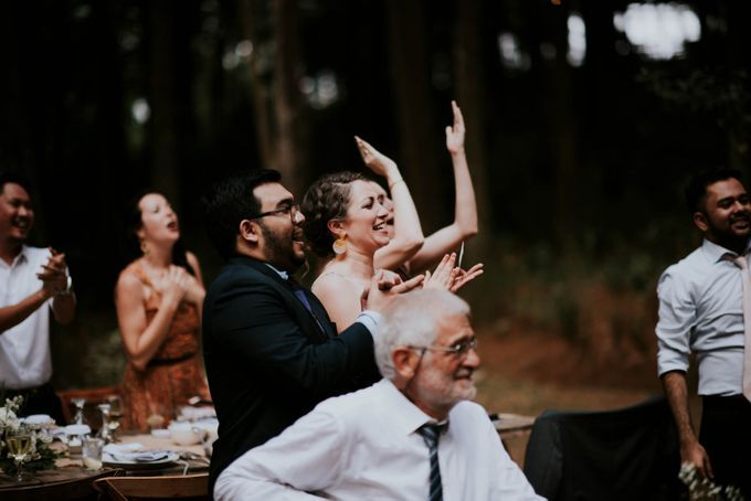 Seated Outdoor Wedding Reception by KittyCat Entertainment - 004