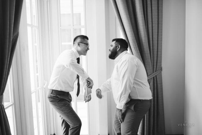 Josh & Stephanie Wedding Day by Venema Pictures - 005