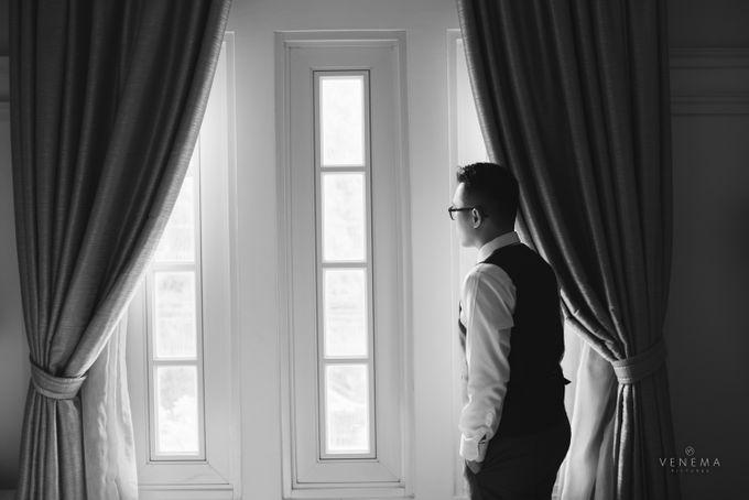 Josh & Stephanie Wedding Day by Venema Pictures - 006