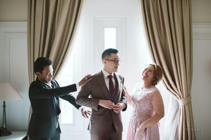 Josh & Stephanie Wedding Day by Venema Pictures - 007