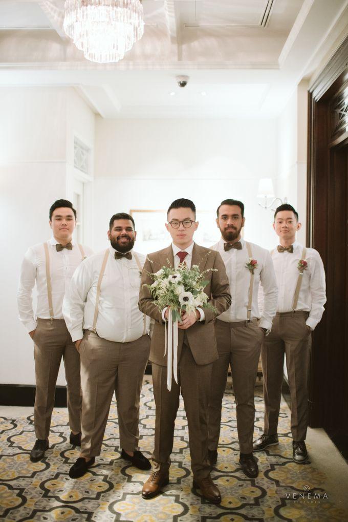 Josh & Stephanie Wedding Day by Venema Pictures - 011