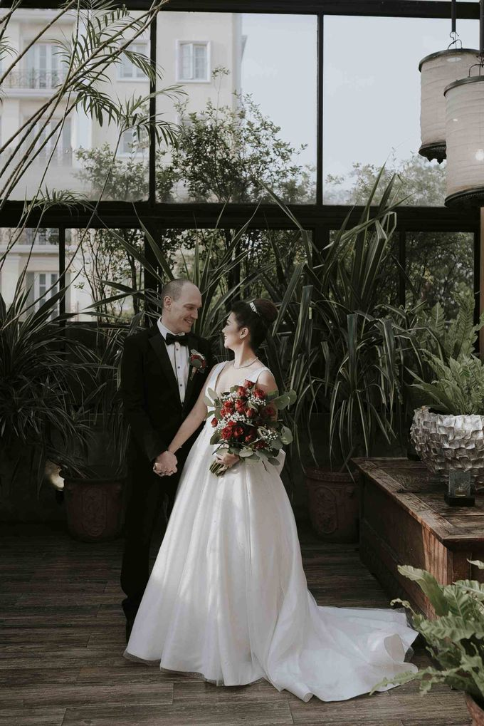the wedding of ron & debbie by akar photography - 004