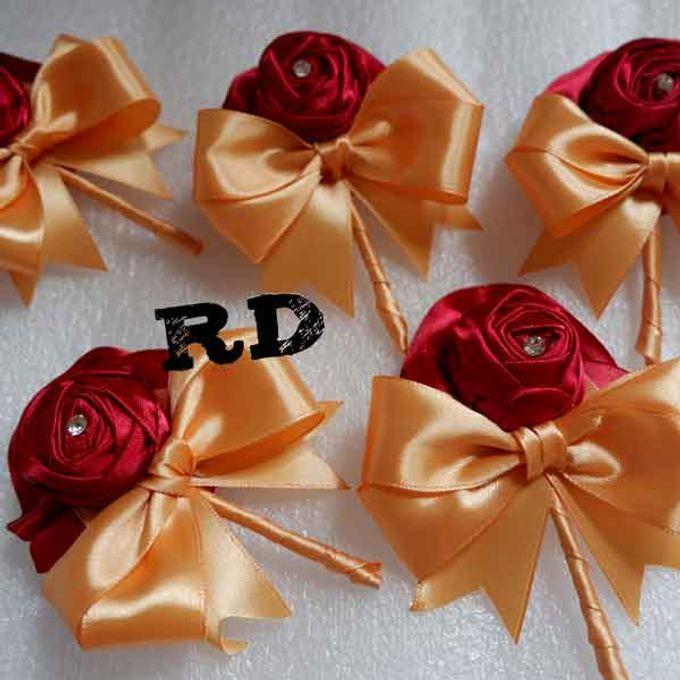 Perlengkapan Bride wedding - jakarta by ribbondecoration - 004