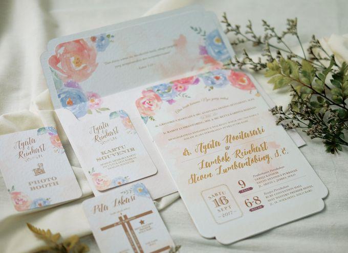 Agata & Reinhart Wedding by Bluebelle Invitations - 001