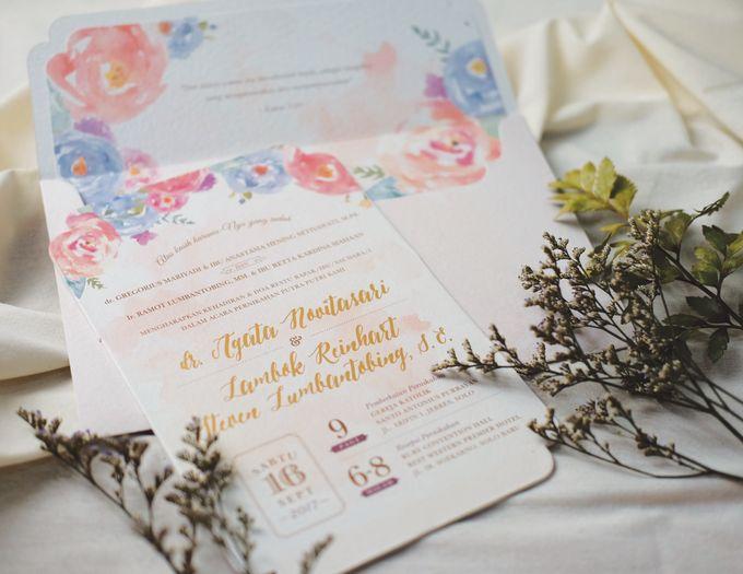 Agata & Reinhart Wedding by Bluebelle Invitations - 002
