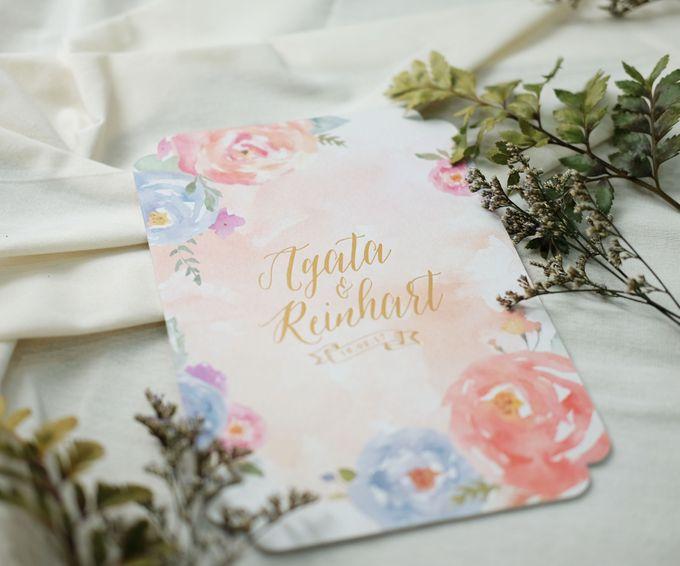 Agata & Reinhart Wedding by Bluebelle Invitations - 003