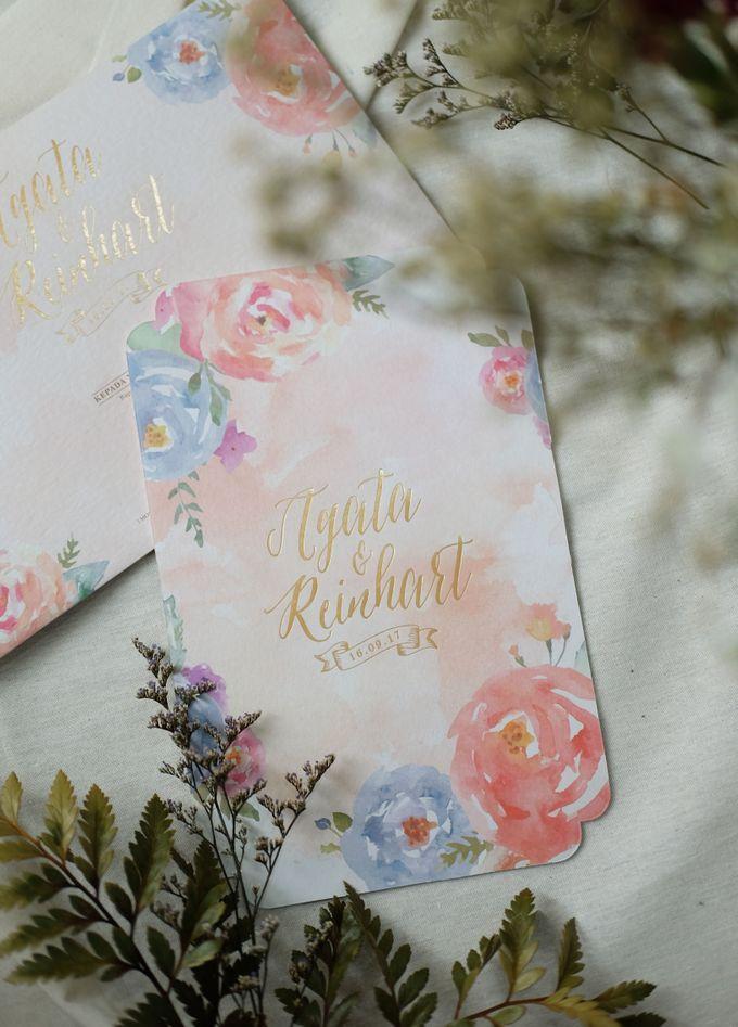Agata & Reinhart Wedding by Bluebelle Invitations - 004