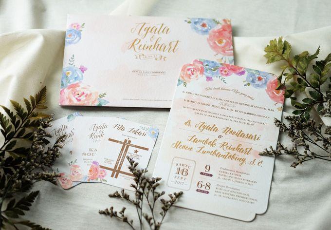 Agata & Reinhart Wedding by Bluebelle Invitations - 005