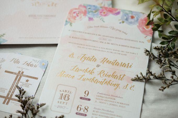 Agata & Reinhart Wedding by Bluebelle Invitations - 006