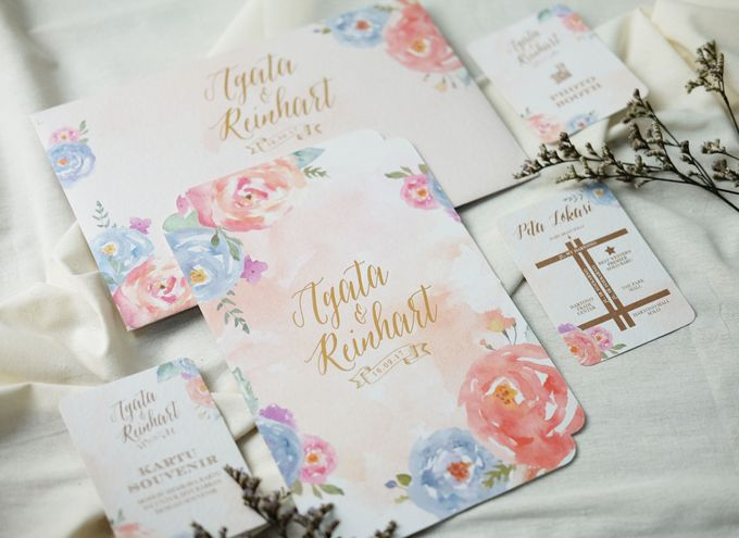 Agata & Reinhart Wedding by Bluebelle Invitations - 007