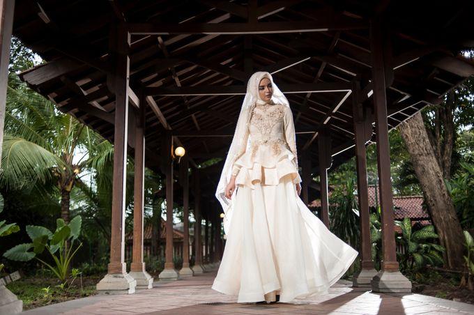 Kemilau Senja Series  by LAKSMI ISLAMIC BRIDE by LAKSMI - Kebaya Muslimah & Islamic Bride - 003