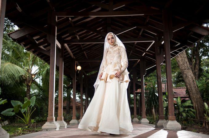 Kemilau Senja Series  by LAKSMI ISLAMIC BRIDE by LAKSMI - Kebaya Muslimah & Islamic Bride - 005