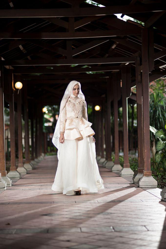Kemilau Senja Series  by LAKSMI ISLAMIC BRIDE by LAKSMI - Kebaya Muslimah & Islamic Bride - 001